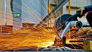 Proceso de producción industrial