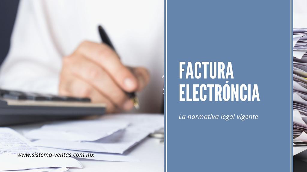 factura electrónica cfdi